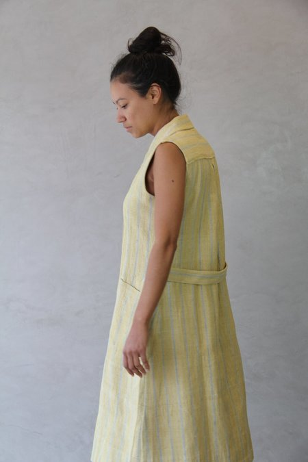ALOJA Cotton 11.11. Claude Dress - Ocher