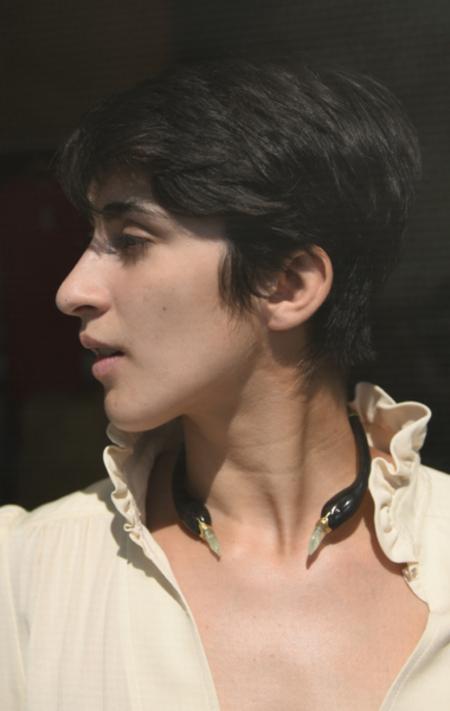 Beatriz Palacios Swan Choker - Gold Vermeil