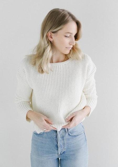 Line Raquel Sweater - Bone