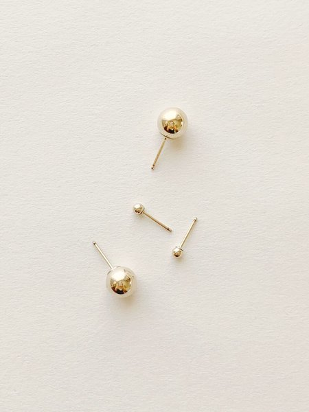 HighLow Bola Studs - Gold