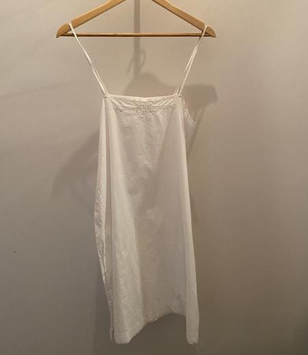 vintage slip dress - white