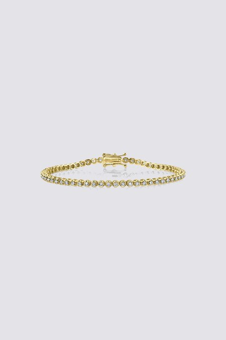 Gabriela Artigas Illusion Tennis Bracelet - 14K Yellow Gold