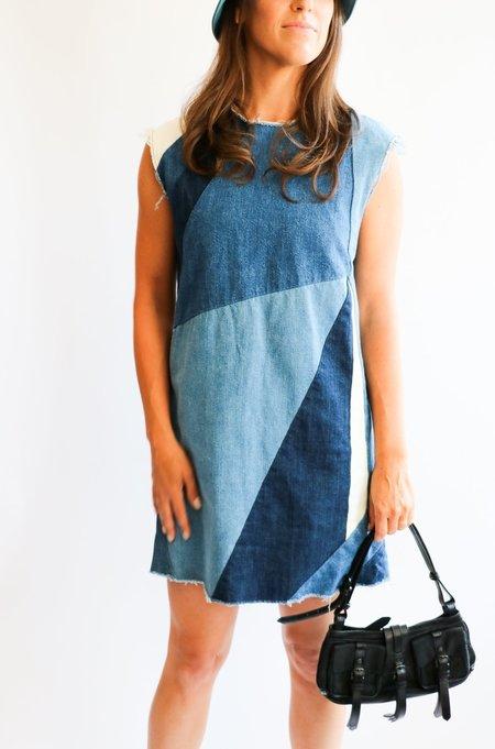 [Pre-loved] Maje The Ratch Dress - Denim