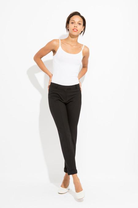 SCHAI Cuffed Ankle Trouser - Black