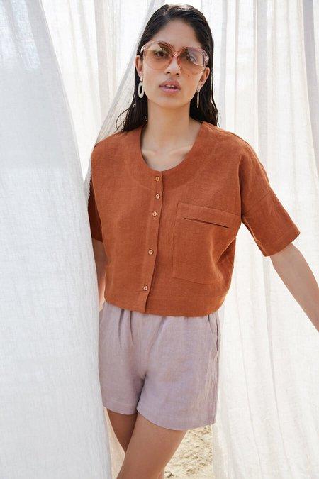 Eve Gravel Marthe Shirt - Sierra