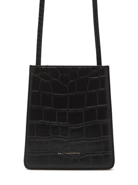 Marge Sherwood Acco S Bag - Black Croc
