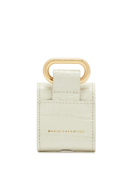 Marge Sherwood Airpods Case - Ivory Croc