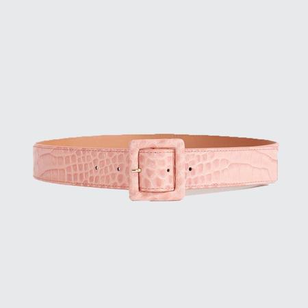 Veronica Beard Rossi Belt - Pink