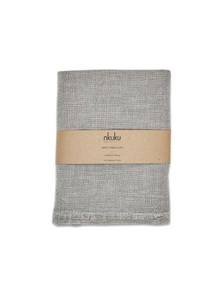 Nkuku Abeto Small Table Cloth - Washed Grey