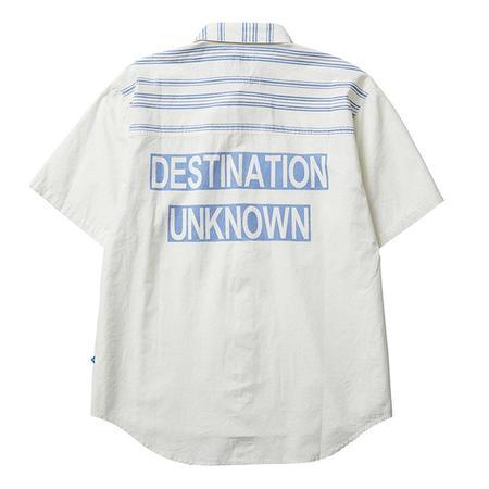 Liberaiders Destination Unknown Short Sleeve Shirt - White