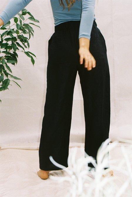Mimi Holvast Scrunchie Pants - Black