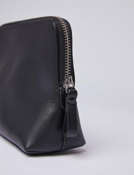 Sandqvist Altea Wash Bag in Leather - Black