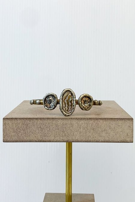 Mikal Winn Abalone Patina Bracelet