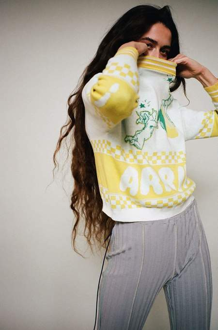 giu giu x Michons Marigot Arrivo! Limoncello Sweater