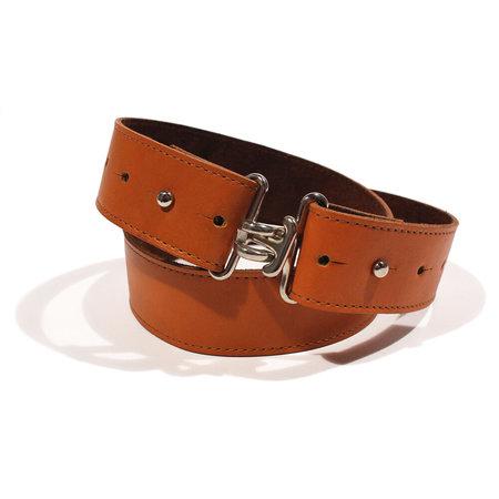 Clyde Large Link Belt - Amber