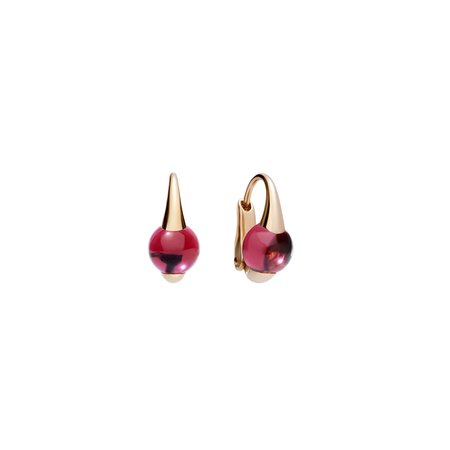 Pomellato M'ama Non Rhodolite Earrings - 18K Rose Gold