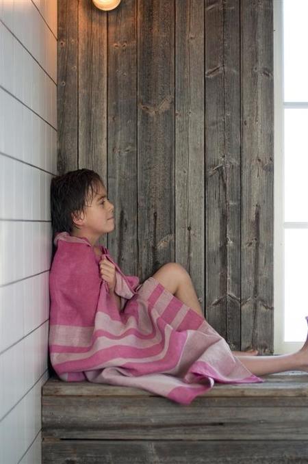 Vaxbo Lin Alfons Bath Towel - White