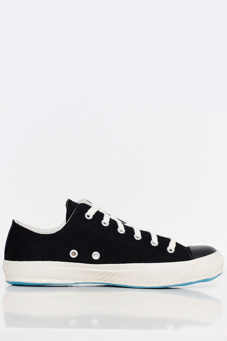 Shoes Like Pottery Low Canvas Sneaker - Black