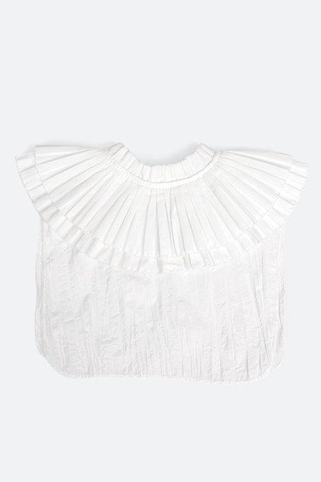 Sea NY Pleated Collar - Cream