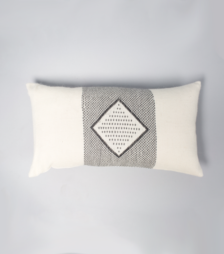 VOZ Apparel Diamante Lumbar Pillow - Ivory