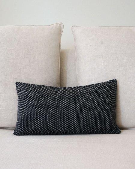 VOZ Apparel Lineas Lumbar Pillow - Charcoal