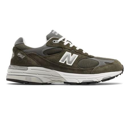 New Balance 993 Made In USA Sneakers - Olive