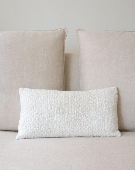 VOZ Apparel Chunky Flammé Lumbar Pillow