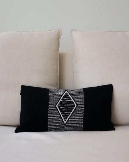 VOZ Apparel Diamante Lumbar Pillow - Black