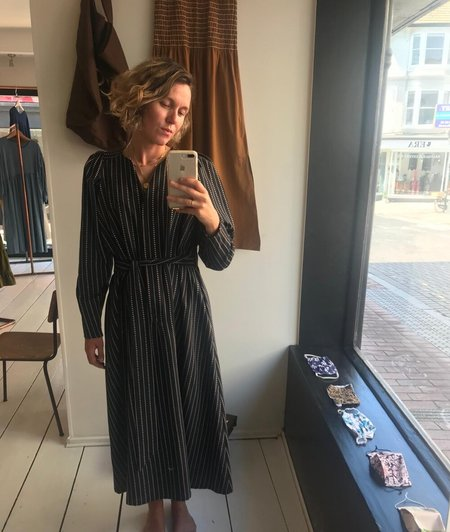 F O L D The Agnes Dress - Black
