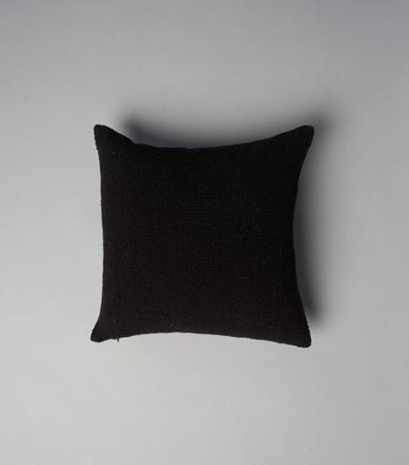 VOZ Apparel Solid Square Pillow - Black