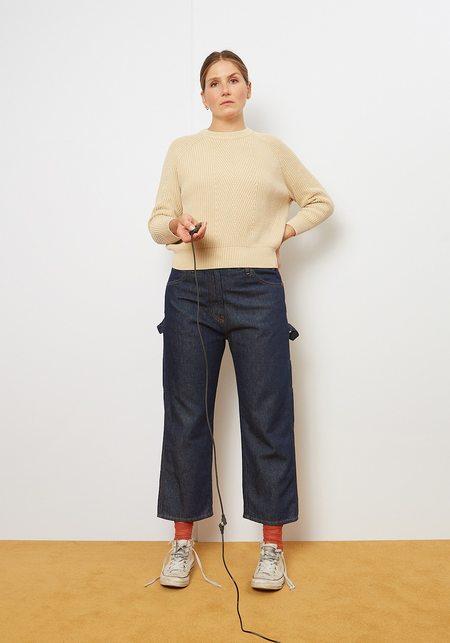 Maison Margiela MM6 5 Pocket Raw Denim Carpenter Jeans