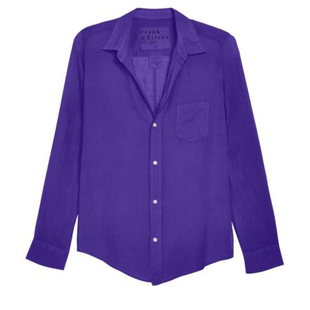 Frank & Eileen Barry Shirt - Purple Voile