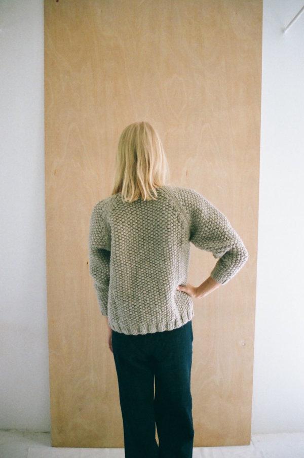 Han Starnes Andean Sweater - Light Gray