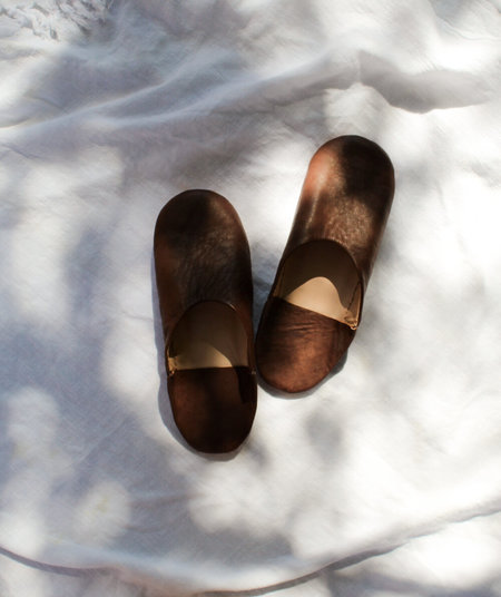 Ergo House Shoes - Brown