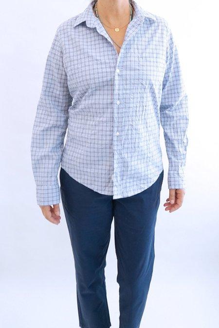 Frank & Eileen Barry Plaid Shirt - Blue