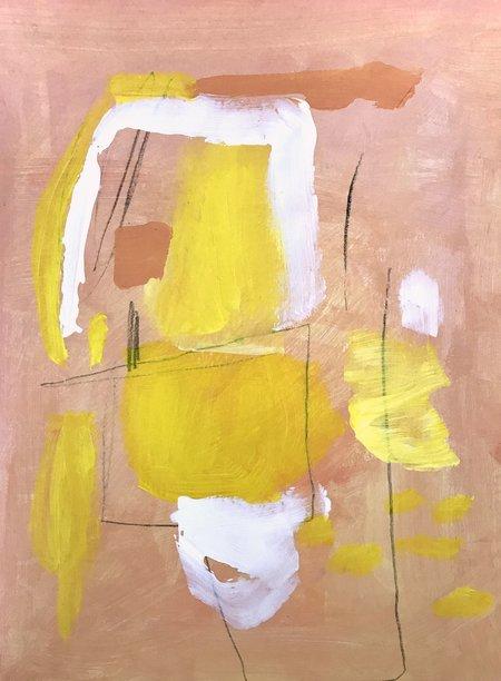Genevieve Allen PEACHIEST PEACH Painting