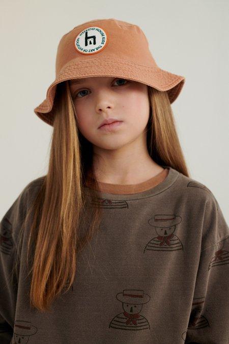 Weekend House Kids Gondolier Sweat Shirt - Brown