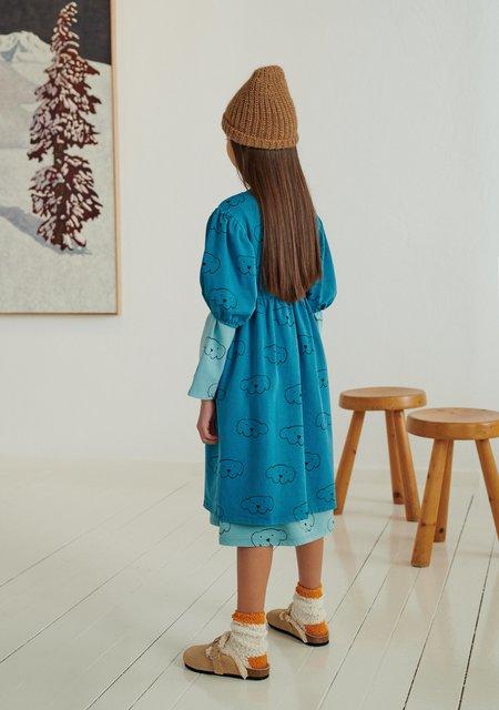 Weekend House Kids Herbert Dress - Turquoise