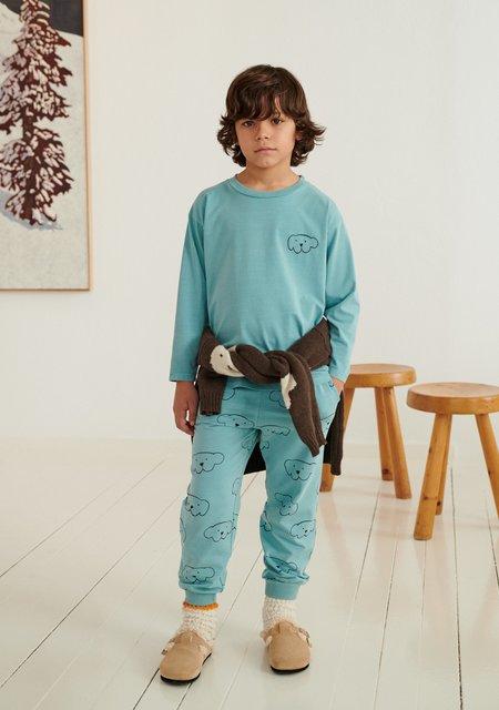 Weekend House Kids Herbert Pants - Soft Turquoise