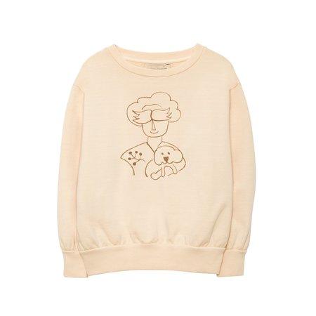 Weekend House Kids Peggy Sweat Shirt - Peach