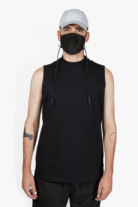 The Celect Square Muscle Tank - Black