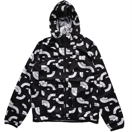 THE NORTH FACE Printed Cyclone Hoodie - Black Half Dome Pieces Print