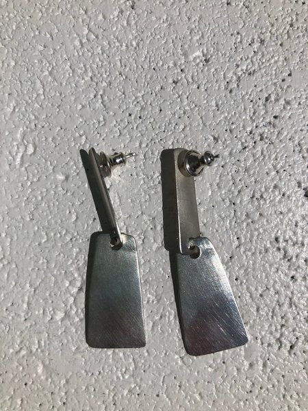 Fay Andrada Lohko Earrings - Silver