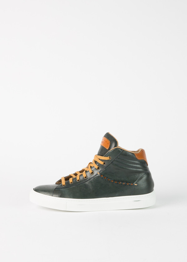 Brador High Top Ribbed Sneaker