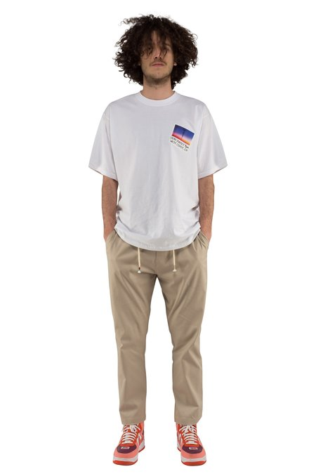 The Silted Company COFFIN BASIC PANT - BEIGE