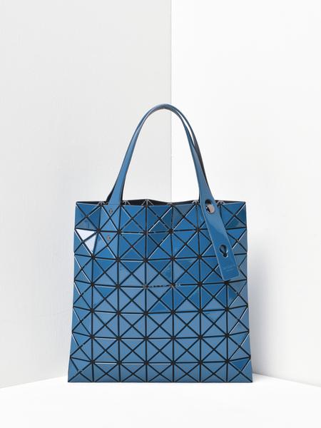 Bao Bao Issey Miyake Prism Gloss Tote - Dark Blue