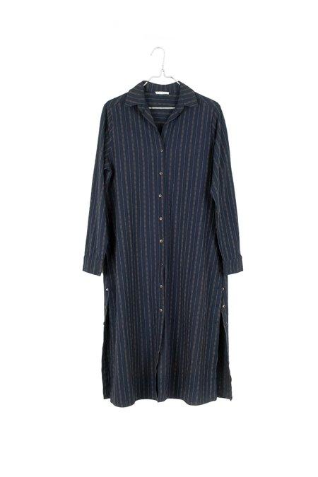 It Is Well L.A. l/s Button Down Shirt Dress - Pinstripe