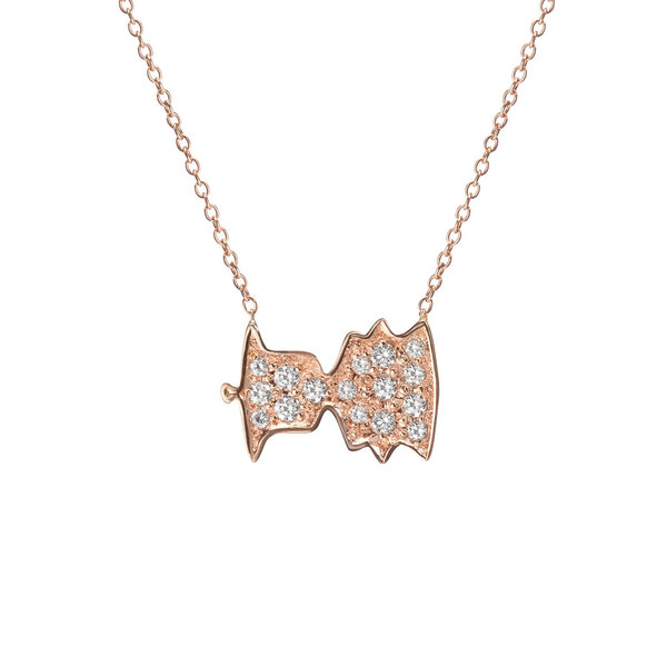 """Shahla Karimi Sounds Necklace - """"Bonjour, Paris!"""" - Audrey Hepburn"""