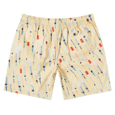 PLEASURES Beverly Twill Shorts - Tan