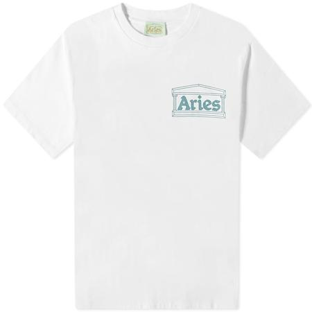 Aries Arise Jimbo Short Sleeve Tee - White